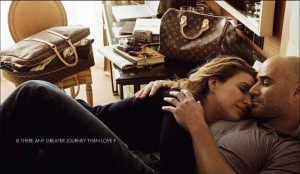 Andre Agassi and Steffi Graff for Louis Vuitton