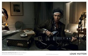 Keith Richards for Louis Vuitton