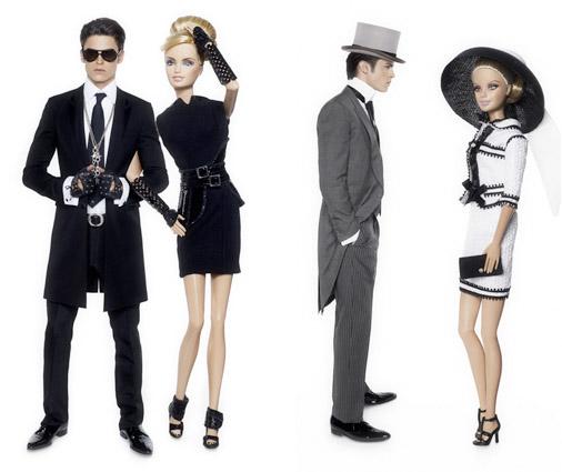 Lagerfeld for Barbie & Ken