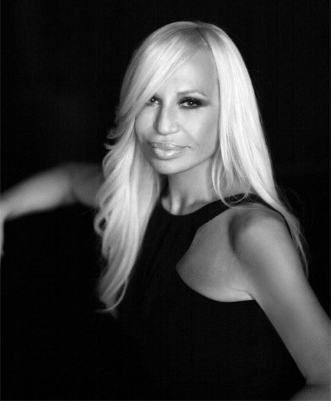 Donatella Versace's First Blog Post