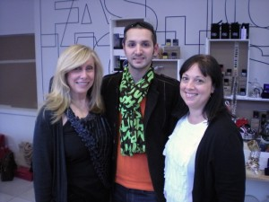 Barbara Atkin (Holt Renfrew), Eric Gooden (Luxe Lust), Jackie Charest (Holt Renfrew).