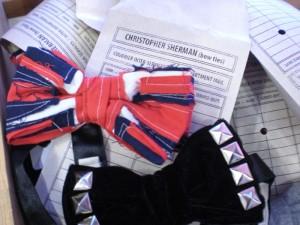 Christopher Sherman's fabulous bowties