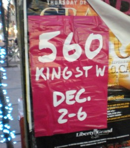 Holt Renfrew 560 King St W Poster