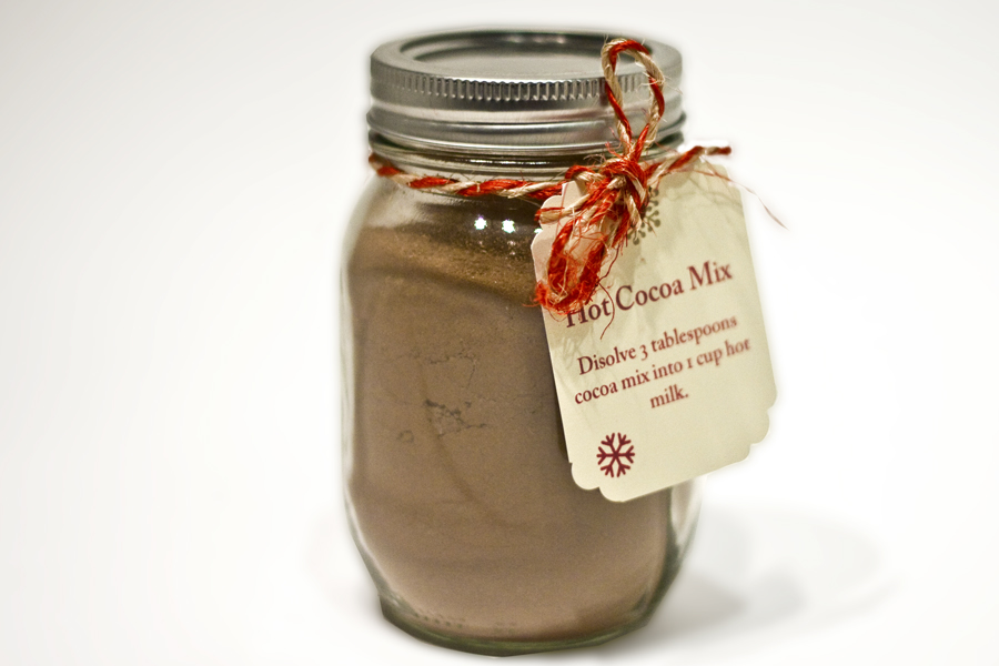 hot cocoa mix hot chocolate calgary hristmas holidays gift presents sugar jar