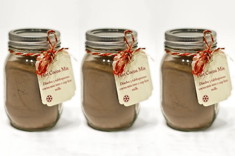 hot cocoa mix hot chocolate calgary alberta canada christmas holidays gift presents sugar jar