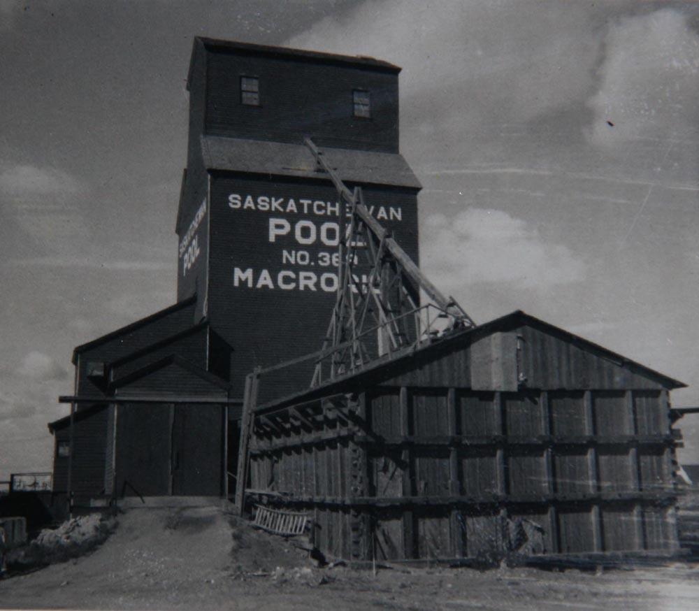 Grain Elevator of the Saskatchewan Wheat Pool