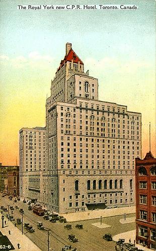 THe Royal York CP Hotel Toronto ,Canada
