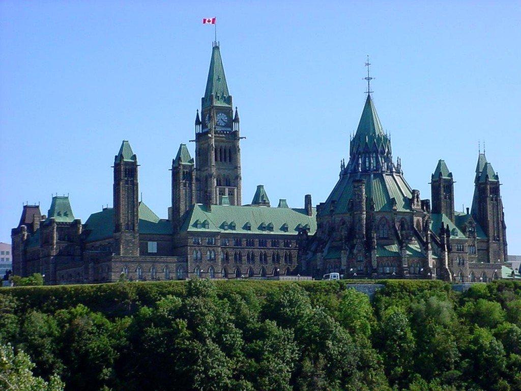 Parliament building on Parliament Hill Ottawa