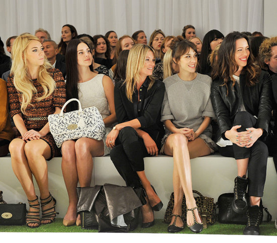 Mulberry Front Row - Featuring Lana Del Rey, Alexa Chung, Kate Moss