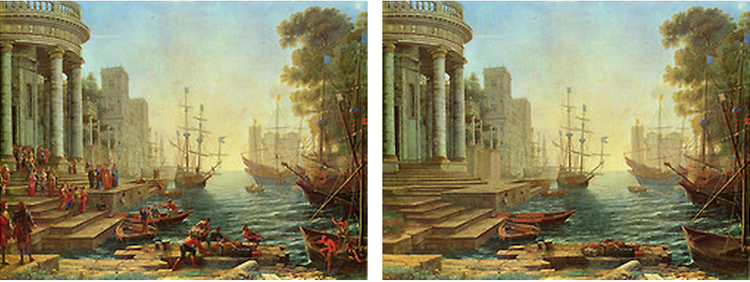 Claude Lorrain 'Seaport with the Embarkation of St. Ursula'  1641