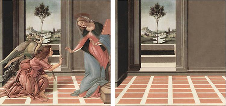 Sandro Botticelli 'Annunciation', 1489-1490