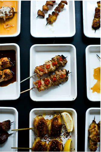 yakitori – oyster from yardbird restaurant in Hong Kong