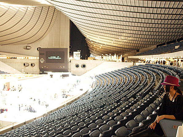 Tokyo Stadium, Olympic Village, Yotogi Gymnasium, Tokyo Dome, Ryogoku-kokugikan Sumo, Yoyogi Museum